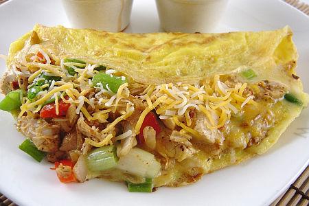 kureci fajita omeleta