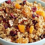 ovoce orechy quinoa