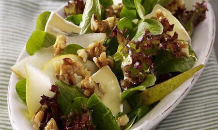 zimni salat s hruskami