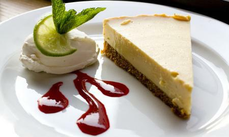 limetovy cheesecake