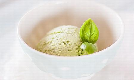 bazalkova zmrzlina