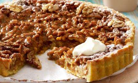 orechovo karamelovy kolac