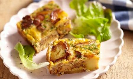 bramborovy kolac s liskami